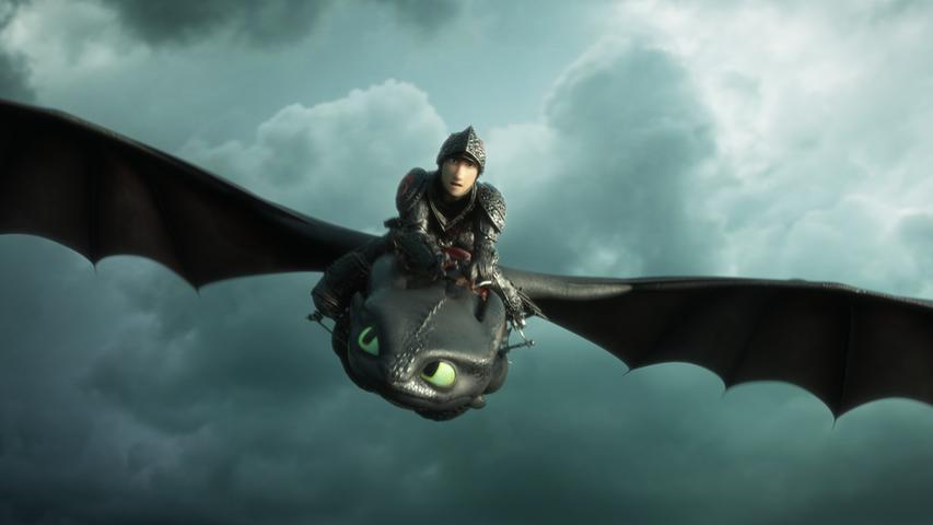 Die Dreamworks-Arbeit Drachenzähmen leicht gemacht kam 2010 in die deutschen Kinos. Die Geschichte um einen Wickinger, der sich mit einem Drachen anfreundet anstatt ihn zu töten, ist ab 11. August bei Prime Video im Programm. Ab 6 Jahren.