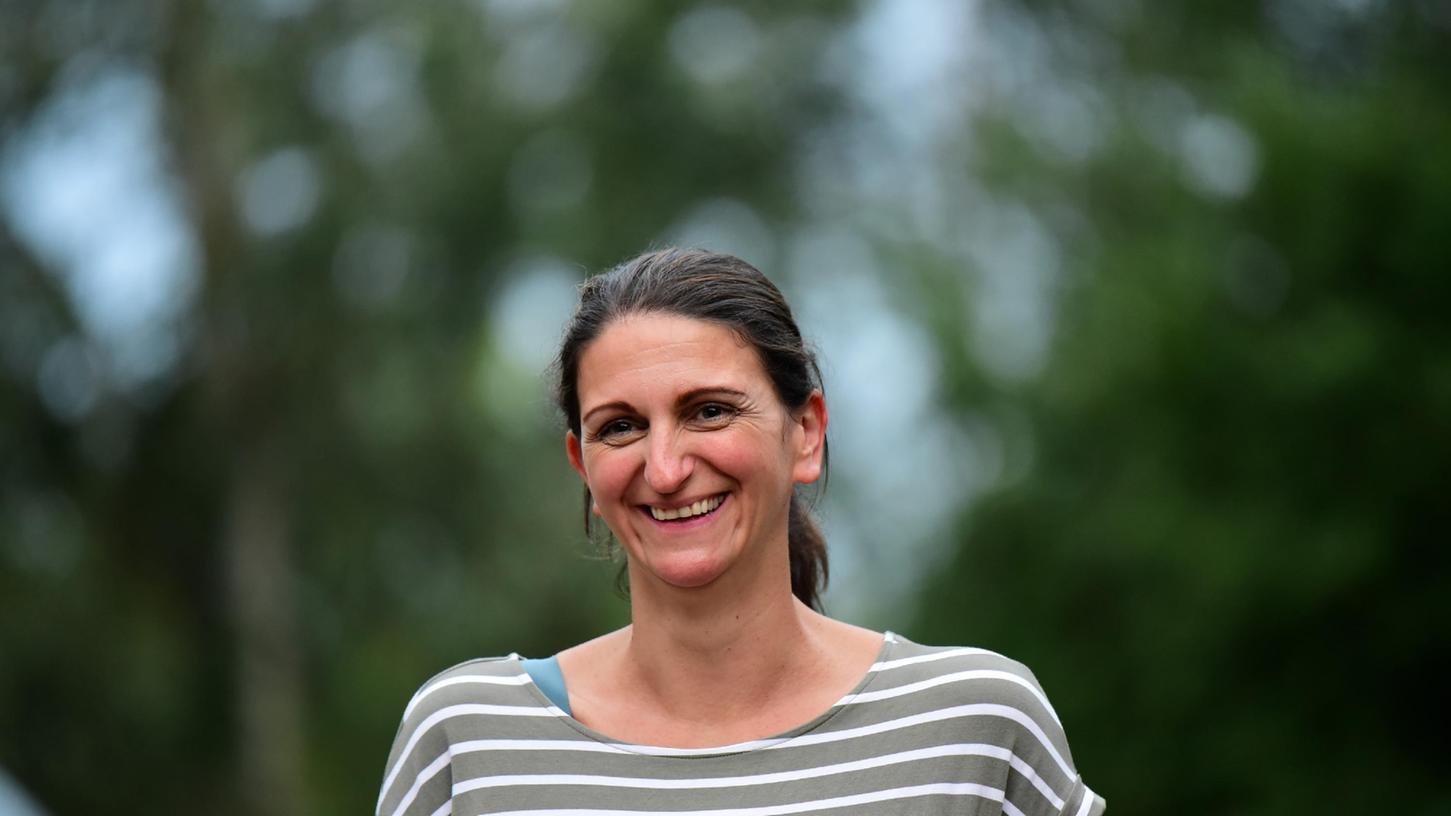 Sie verstärkt das Amt und damit die Kultur in Forchheim: Andrea Doyle.