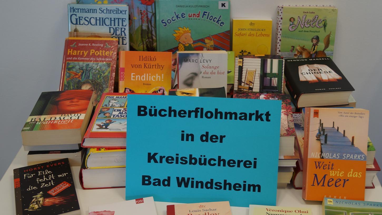 Zum einheitlichen Preis von 50 Cent werden in den Kreisbüchereien in Bad Windsheim und in Scheinfeld Bücher verkauft.