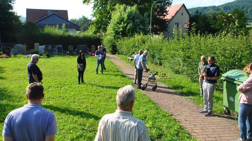 Ein neues Urnenfeld ist für den Friedhof Hagenbach geplant.