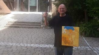 Christoph Gerling als Auktionator.