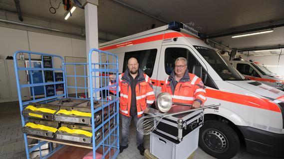 Hilfe aus Franken: So koordinieren die Johanniter den Einsatz im Flutgebiet