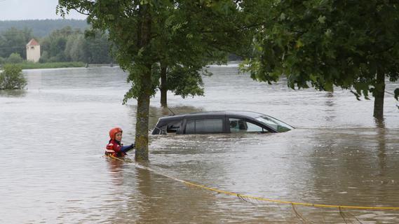 Wenig Sonne und Regenmassen im Juli: DWD blickt auf Hochwasser-Monat zurück