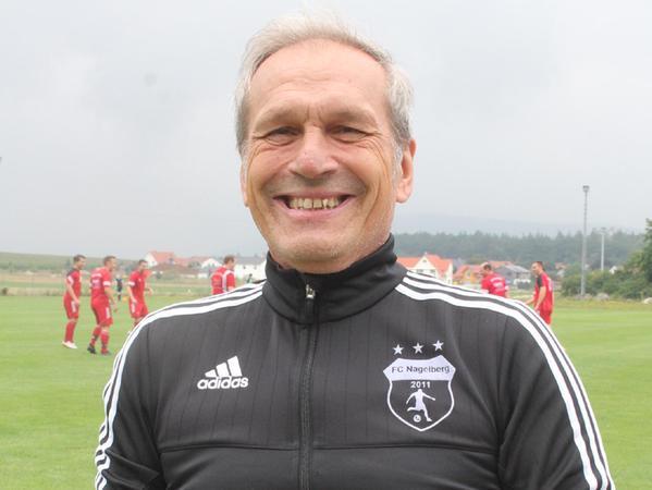 Aufstiegstrainer: Utz Löffler hat den FC Nagelberg sechs Jahre nach dem Abstieg zurück in die Kreisklasse geführt.