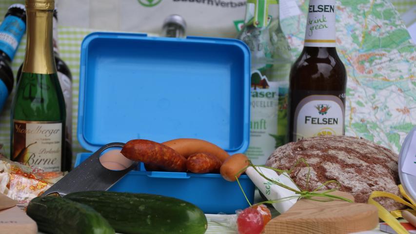 Da kriegt man doch gleich Appetit: Die Picknicktasche kann man jetzt vorbestellen. Zwei Abholtermine sind geplant.