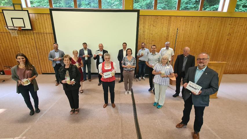 Stolze Wegbereiter: Rund zwei Jahre arbeiteten die Kommunen Pappenheim, Thalmässing und Georgensgmünd gemeinsam an dem Leader-geförderten Projekt.