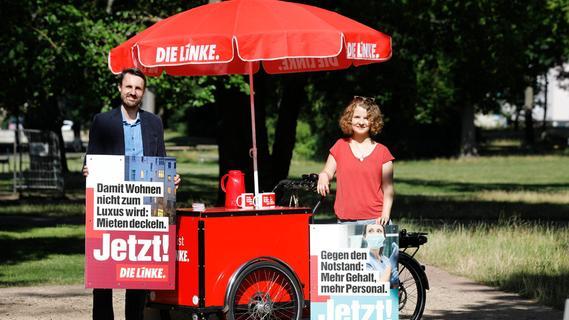 Höherer Mindestlohn, sichere Rente: So wollen die Nürnberger Linken punkten