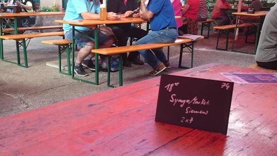 Tisch-Reservierungen im Biergarten: Wie Tradition und Geselligkeit darunter leiden