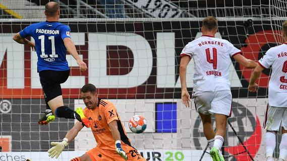 Eine gute Halbzeit, ein Punkt: Club holt 2:2 in Paderborn