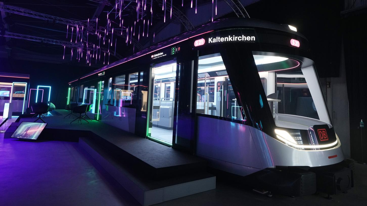 IdeenzugCity: So könnte die S-Bahn der Zukunft aussehen.