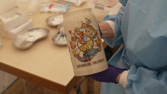 Spritze und Volksfesttaler: Lange Schlange bei Impfaktion im NürnBärLand