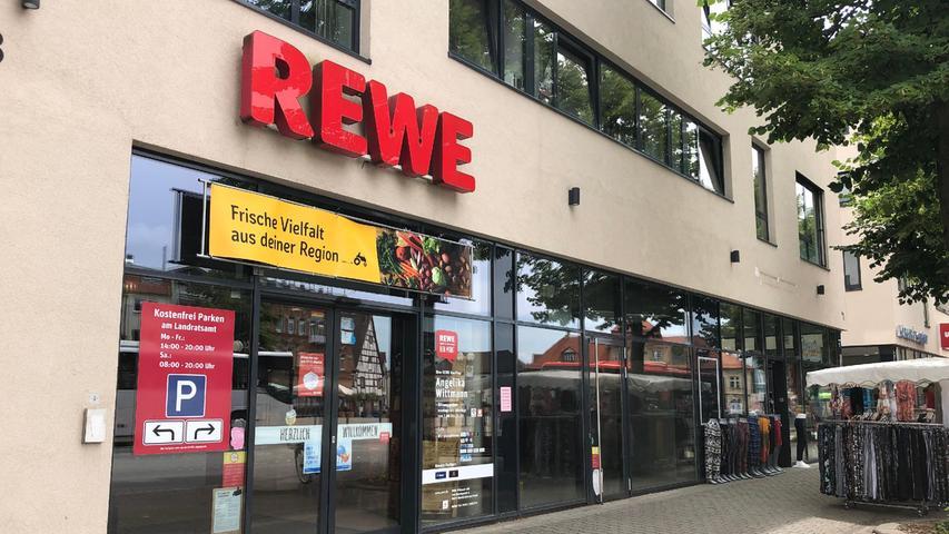 Am 14. August schließt Rewe am Paradeplatz.