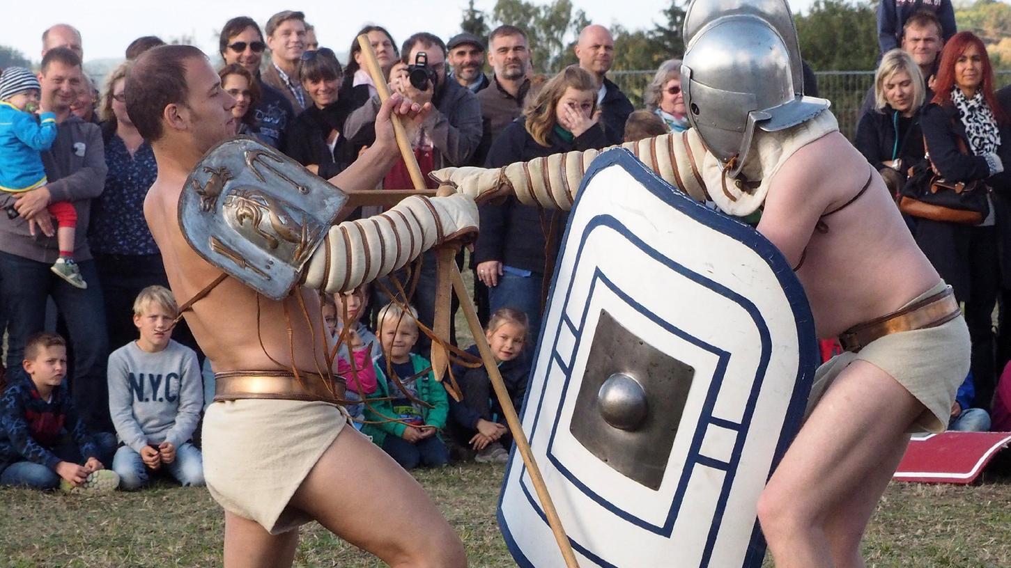 Das Römerfest 2021 ist abgesagt. Die rtadt begründet den Schritt damit, dass alle großen Römerfeste ausfallen und die Entwicklung der Pandemielage bis September nicht absehbar ist.