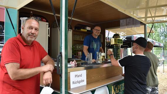 Biergarten an der Lindelberghalle soll Treffpunkt für Bürger werden