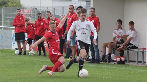 Weißenburger U23: knappes 0:1 im Landkreisduell gegen Absberg