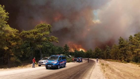 Heftige Brände und Gluthitze ohne Ende beuteln den Süden Europas