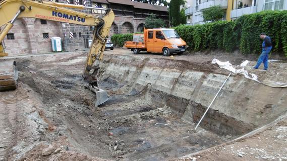 Jetzt geht's los: Der Palmenhof in Nürnberg wird bebaut
