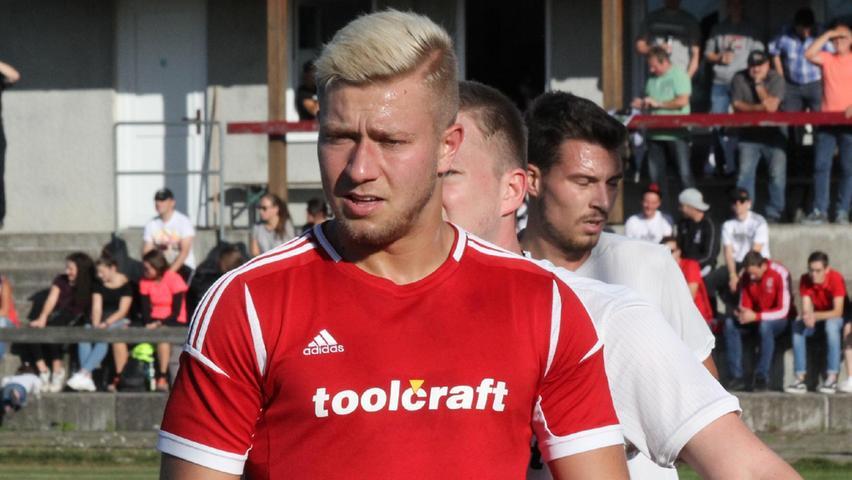 Erzielte einen lupenreinen Hattrick: Niko Reislöhner von der DJK Stopfenheim, der früher schon für den FC Ingolstadt II in der Regionalliga gespielt hat.