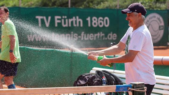 Herren 55 des TV Fürth 1860 sind Regionalligameister im Tennis