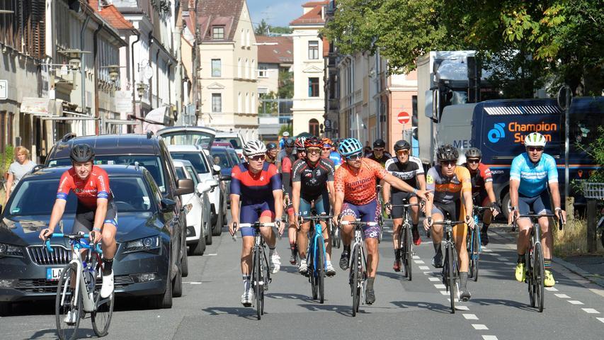 Deutschland Tour: Rundherum ist viel geboten in Erlangen