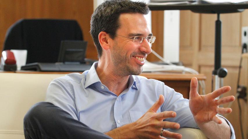 Will für die Menschen sprechen, die eine Wohnung suchen: Gunther Geiler, Geschäftsführer beim Deutschen Mieterbund in Nürnberg.
