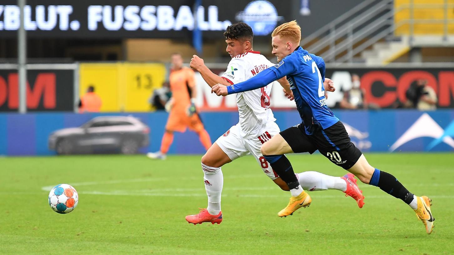 Beim 2:2 in Paderborn kam Taylan Duman (links) zu seinem zweiten Saisoneinsatz - diesmal schon für knapp 20 Minuten.