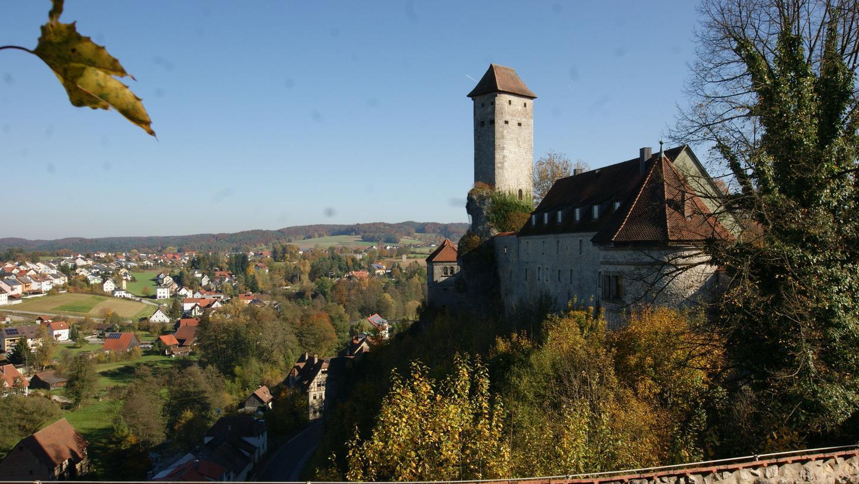 Burg Veldenstein in Neuhaus an der Pegnitz 2017.
