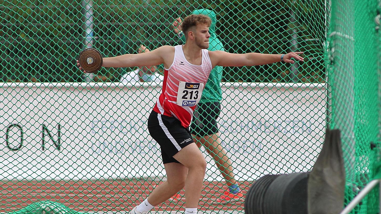 Jakob Nützel durfte mit Platz fünf bei der DM zufrieden sein.