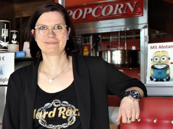 Marion Böhm leitet die Movieworld Kinos in Gunzenhausen und Nördlingen.