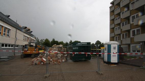 Ärztehaus, Pflegeschule und Operationssäle: Am Krankenhaus in Bad Windsheim wird gebaut