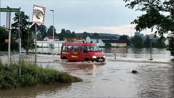 Schon fast eine Million Euro für Flutopfer in Franken