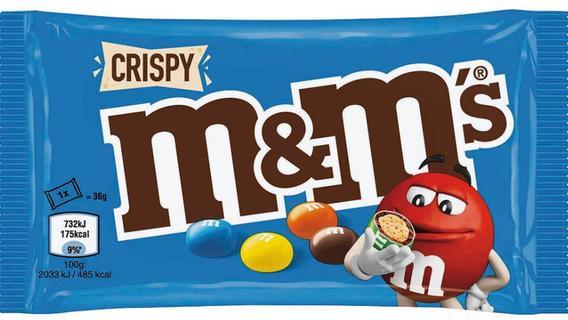 Nicht zugelassene gentechnisch veränderte Organismen: Mars ruft M&M's Crispy zurück