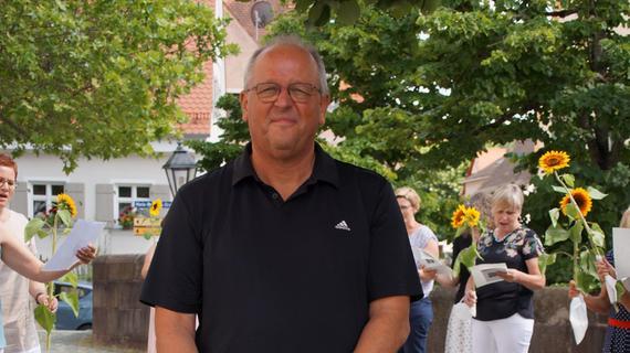 Hilpoltstein: Ohne Feier durfte Peter Benz nicht gehen