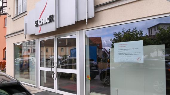 Das Modehaus Schick hat geschlossen.