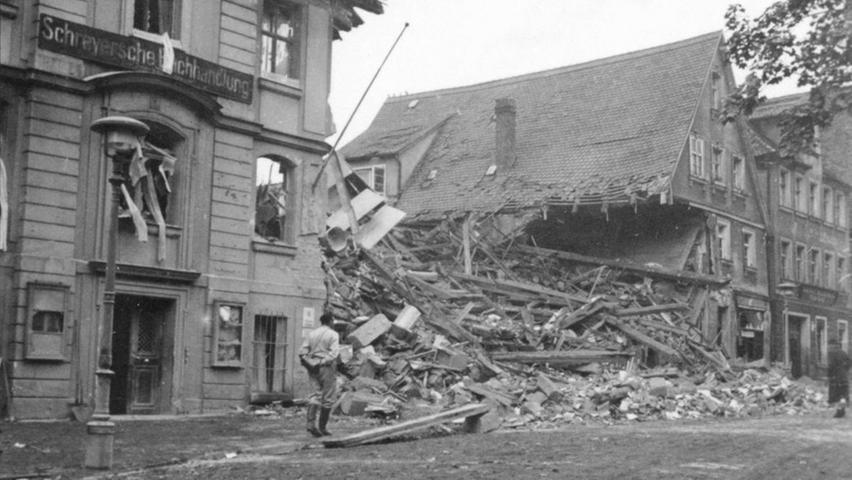 Luftangriff auf Schwabach 1941: Historische Bilder als Mahnung