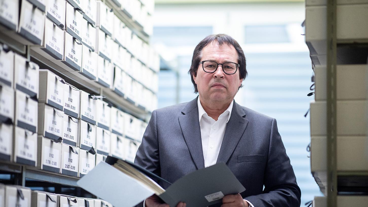 Oberstaatsanwalt Thomas Will ist derLeiter der Zentralen Stelle der Landesjustizverwaltungen Baden-Württemberg zur Aufklärung nationalsozialistischer Verbrechen in Ludwigsburg. Er hat die Ermittlungen über die KZ-Wachmänner vorangetrieben.