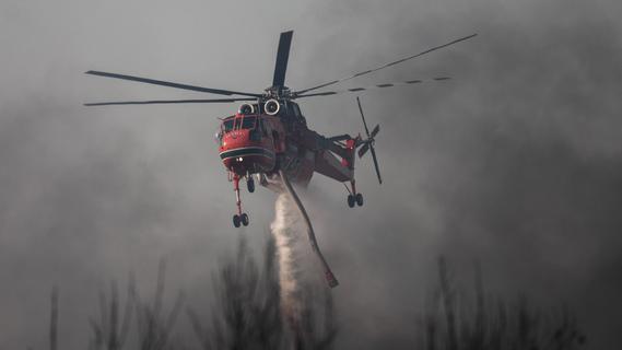 Feuer wüten in Mittelmeerländern - Weiter hohe Brandgefahr