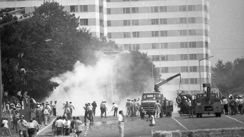 Der Rennfahrer Kurt Hild war nicht schuld am Unfall des Mexikaners Pedro Rodriguez, der beim Norisringrennen 1971 ums Leben gekommen ist.
