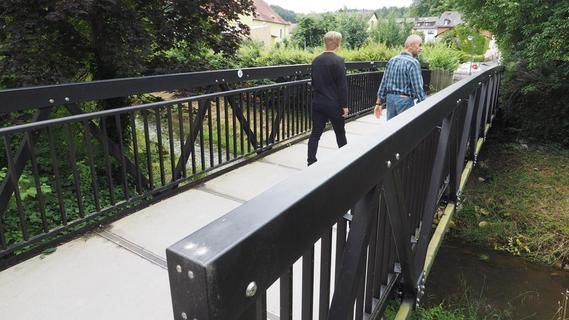 Pegnitzer Fußgängerbrücke muss erneut gesperrt werden