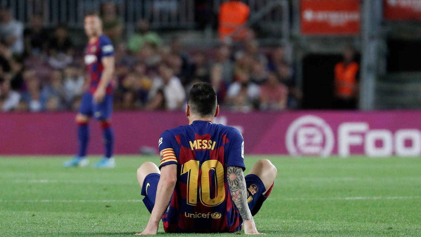 Kaum zu glauben, aber wahr: Lionel Messi wird nicht mehr das Trikot des FC Barcelona tragen.