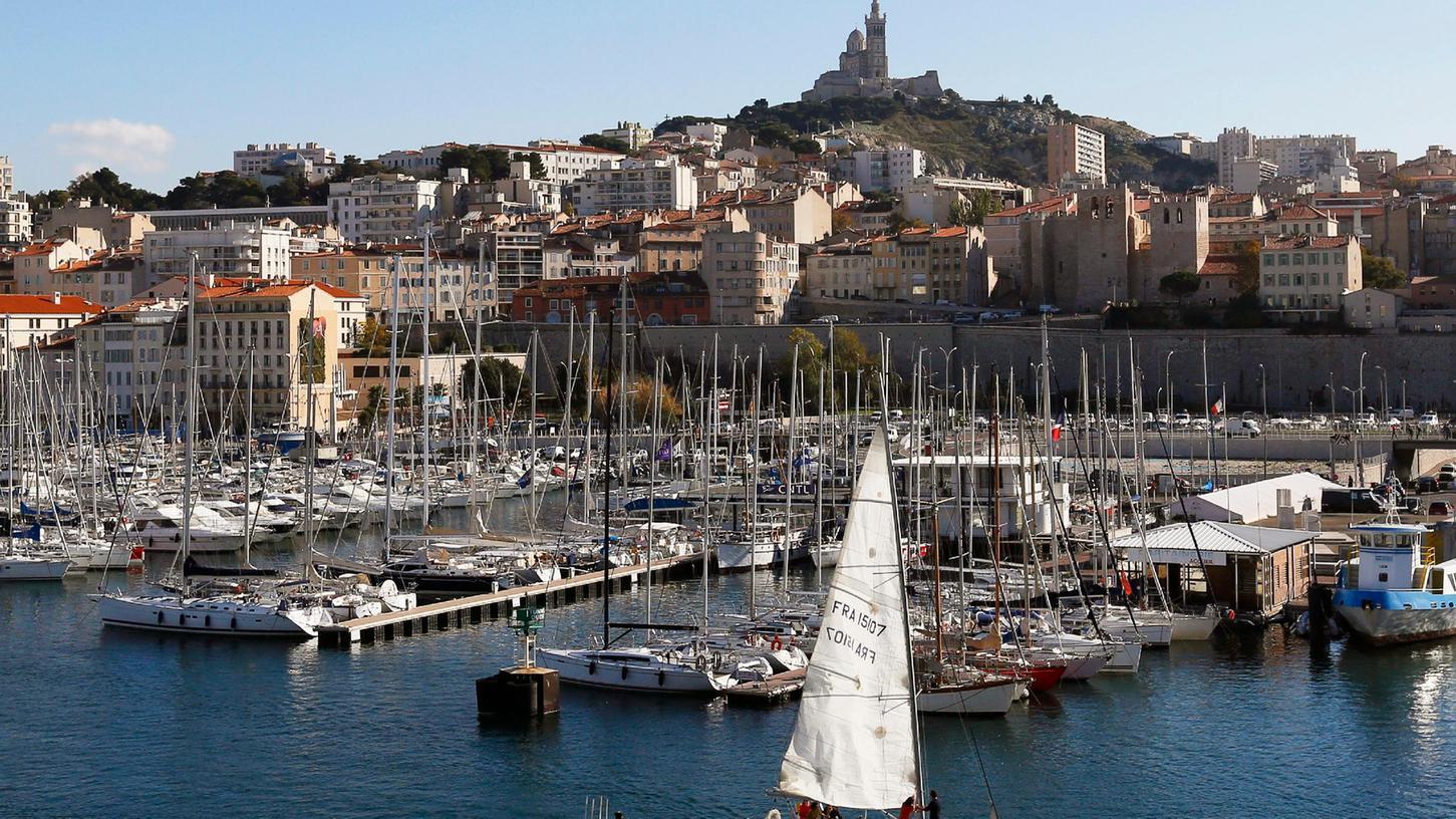 Die Bundesregierung stuft größere Teile Frankreichs als Corona-Hochrisikogebiet ein. Im Bild: Marseille.