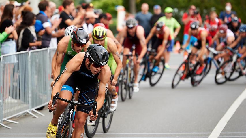 Nürnberg im Triathlon-Fieber: Alle Bilder von der Strecke durch die Noris