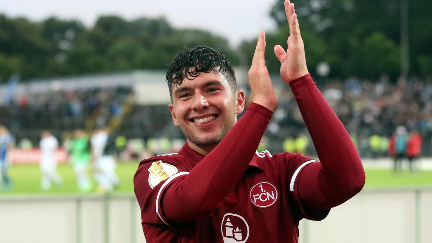 Siegtorschütze: Taylan Duman macht den Club und sich glücklich.
