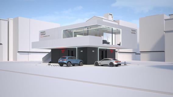 Vorreiter in Nürnberg: Audi plant neuartige Elektro-Tankstation