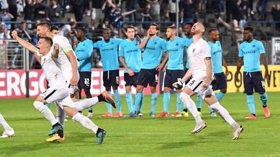 Fürther Flachpass: Zwischen Pokal-Aus und Vorfreude auf die Bundesliga