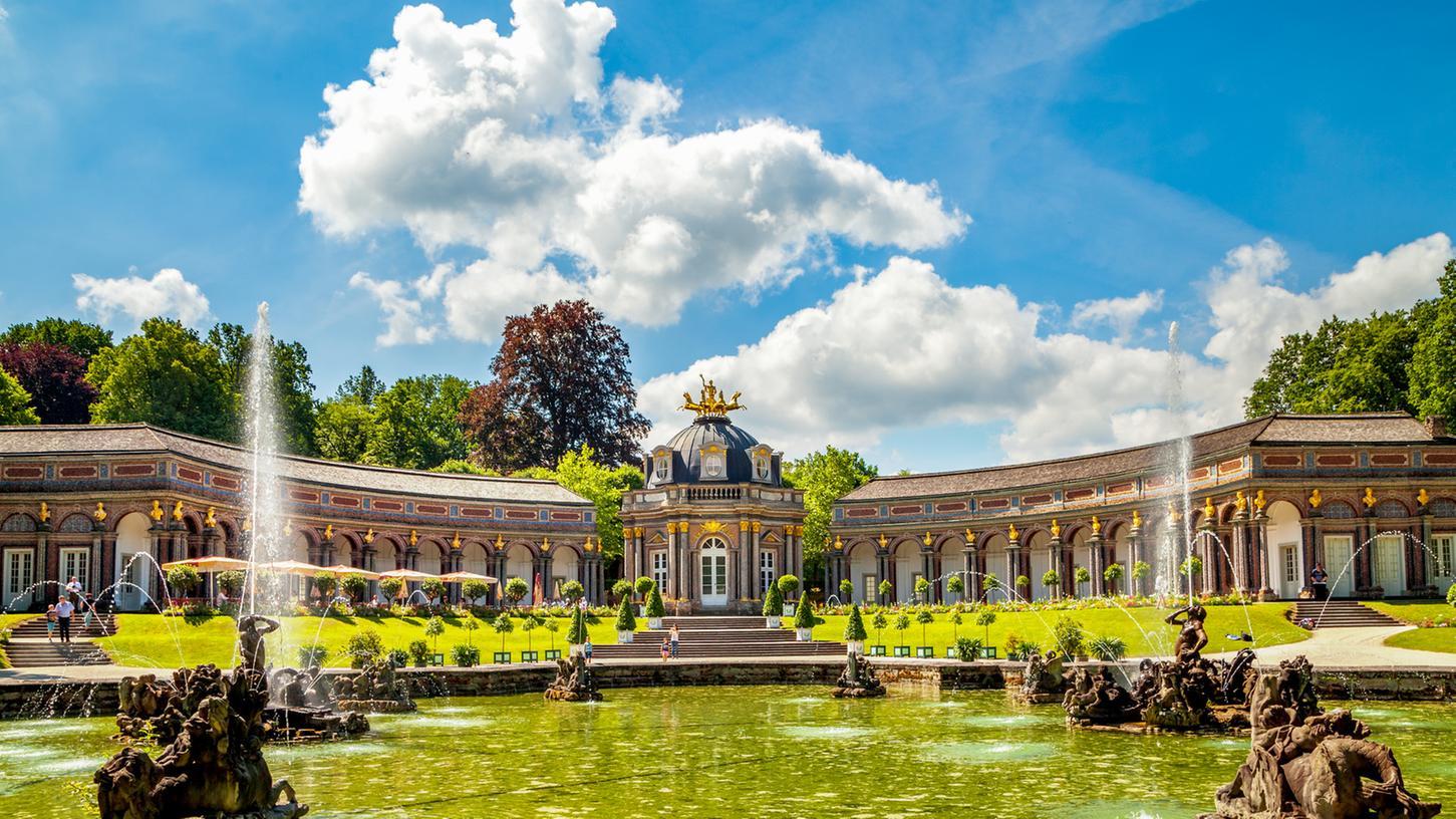 Die Eremitage in Bayreuth ist die perfekte Filmkulisse für das Leben der Kaiserin Sisi