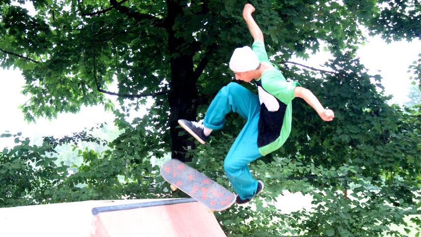 Das ist auf der neuen Skateanlage auf Forchheims Sportinsel geboten