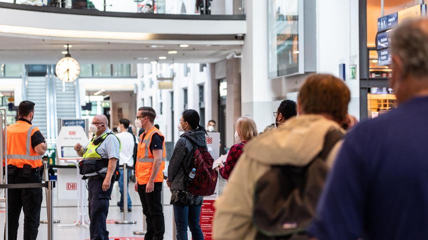 48-Stunden-Streik! So ist die Lage am Nürnberger Hauptbahnhof