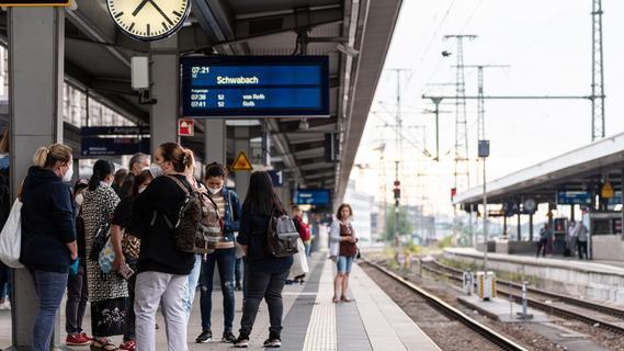 Bahn-Streik in Franken: Viele S-Bahnen im Großraum Nürnberg betroffen