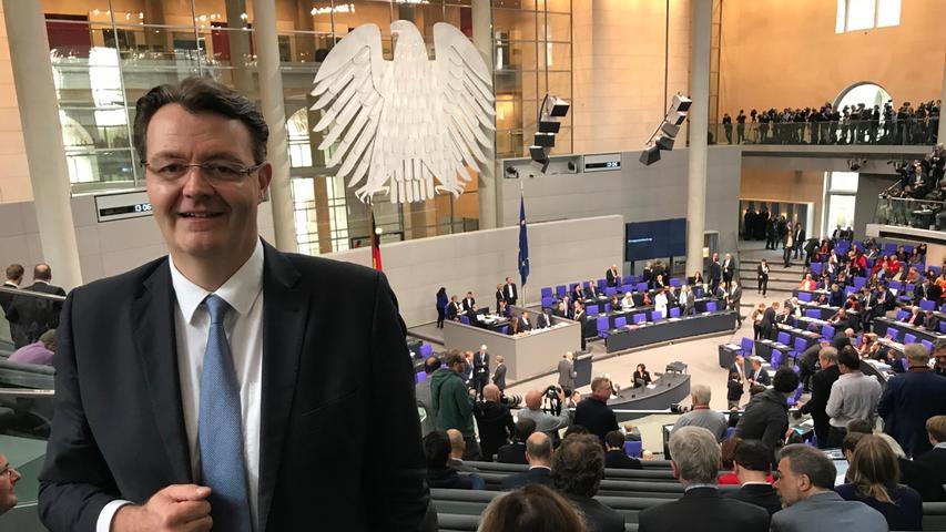 Im Wahlkreis Nürnberg-Süd hat sich Michael Frieser gegen seine politischen Herausforderer durchgesetzt. 2009 gewann er erstmals bei der Bundestagswahl das Direktmandat.